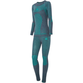 Viking Europe Prima Primaloft Merino Unterwäsche Set Damen grass/green